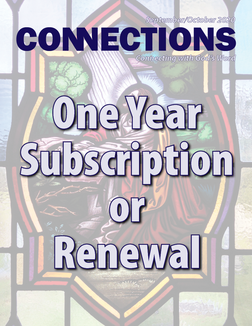 Connections Magazine - 1 Year Subscription (American)