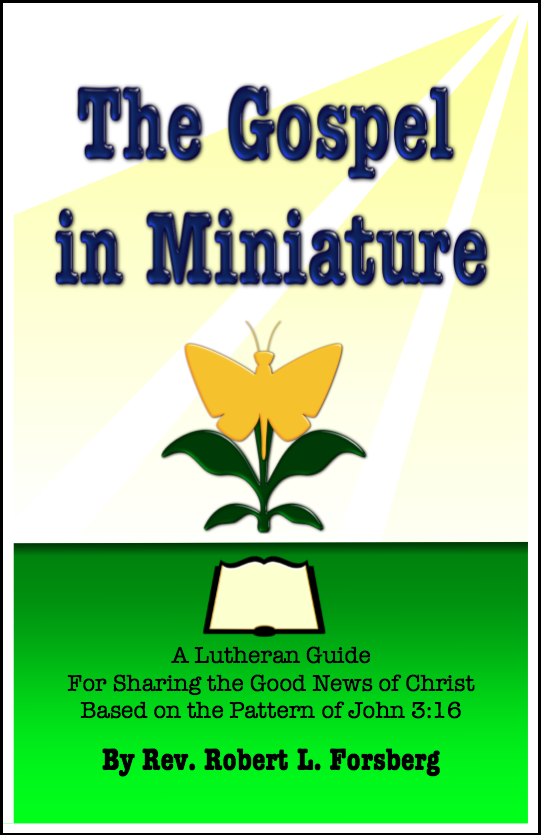 The Gospel in Miniature E-3210