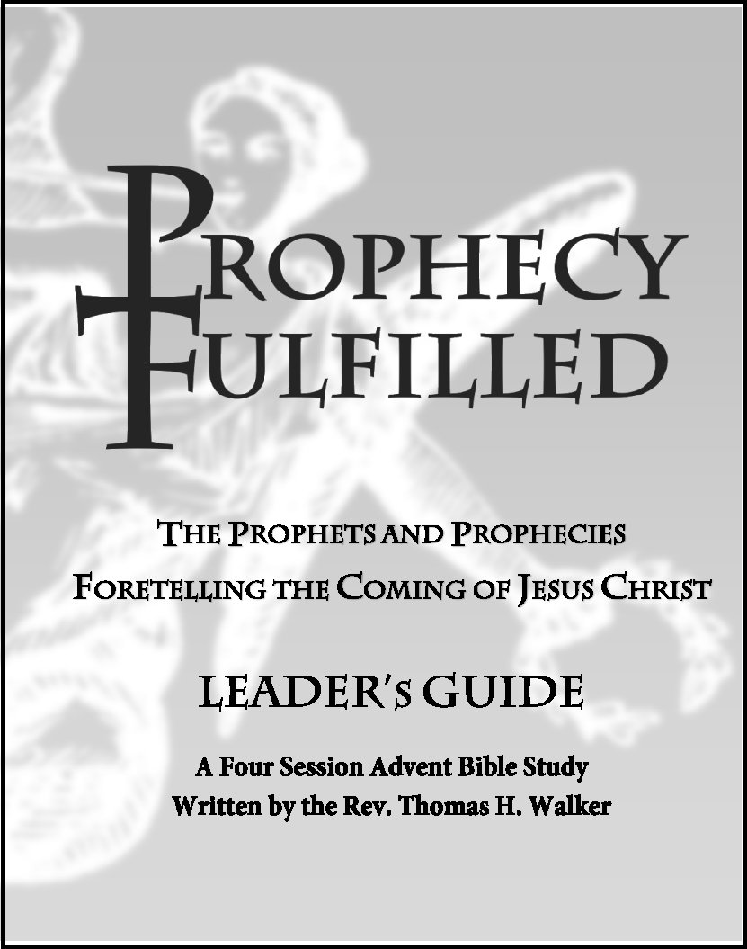 Prophecy Fulfilled - Advent Leader Guide A-3025