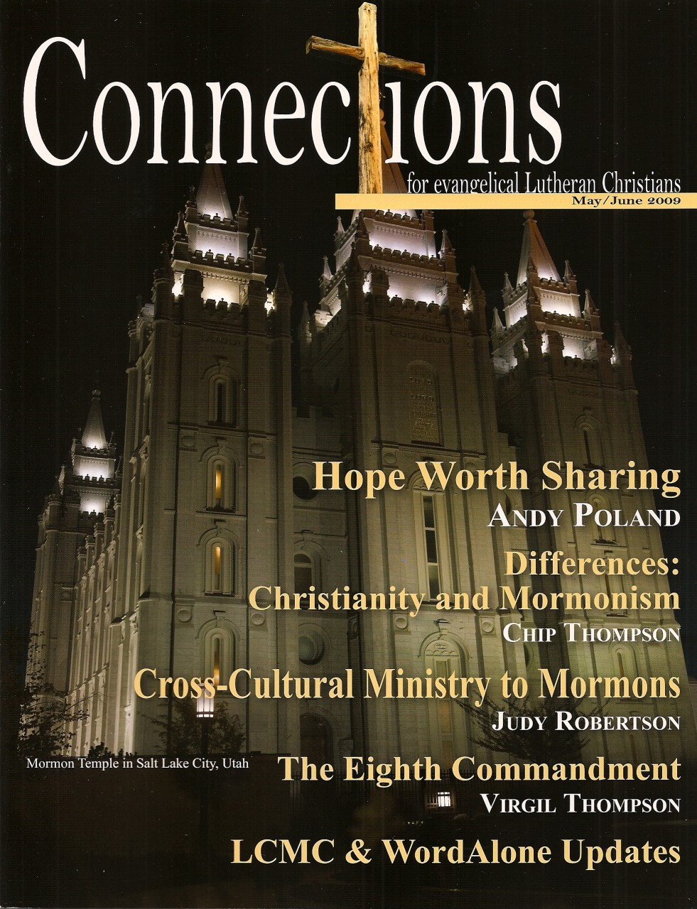 Connections Back Issue May June 2009