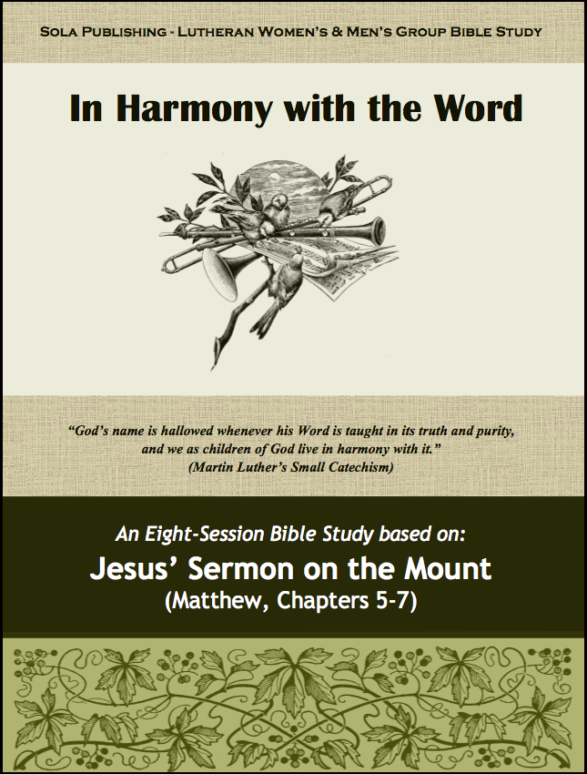 In Harmony with the Word - Participant W-0710