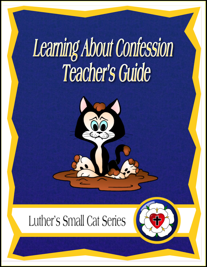 Learning About Confession (Teacher's Guide)
