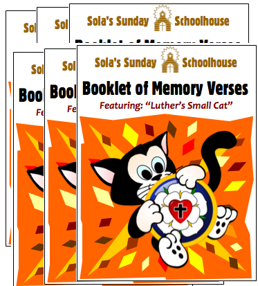 Booklet of Memory Verses - Bundle of Six S-0023