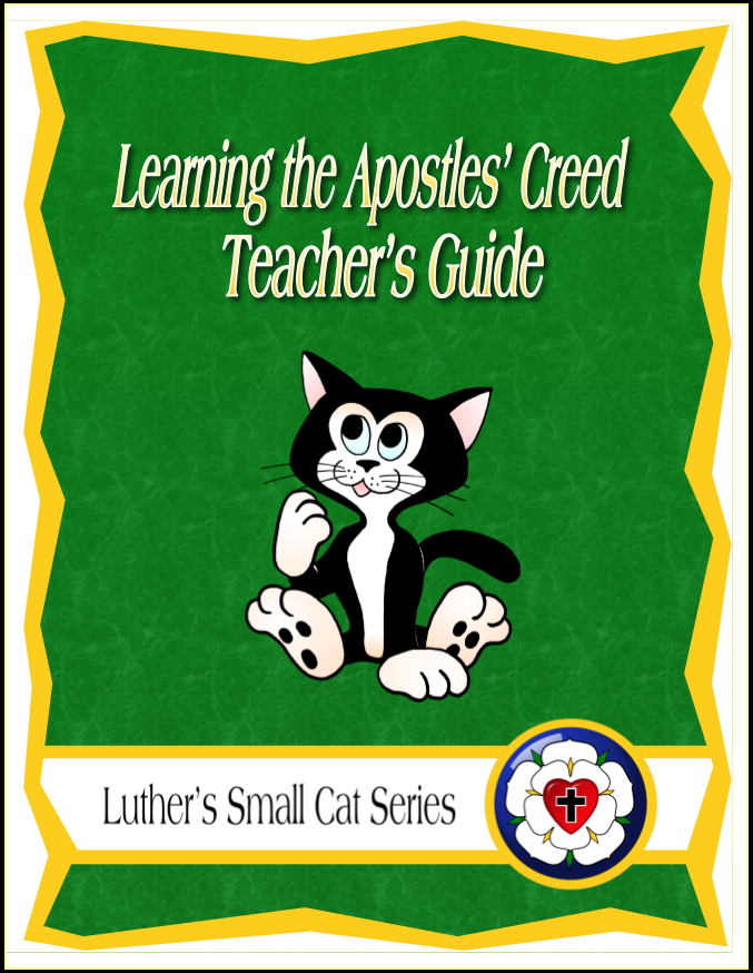 Learning the Apostles' Creed (Teacher's Guide) C-1145