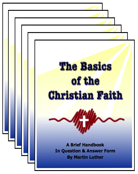 The Basics of the Christian Faith (Catechism) 6 Pack E-8206