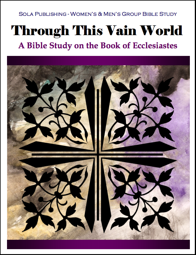 Through This Vain World - Ecclesiastes W-1210