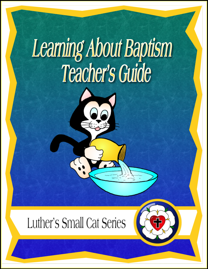 Learning About Baptism (Teacher's Guide)