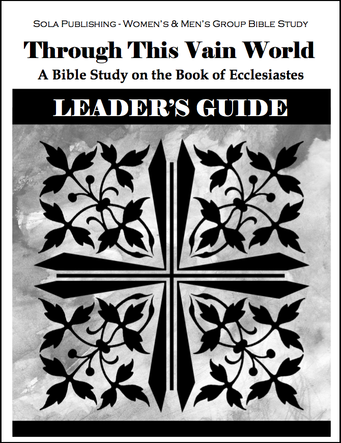 Through This Vain World - Leader's Guide