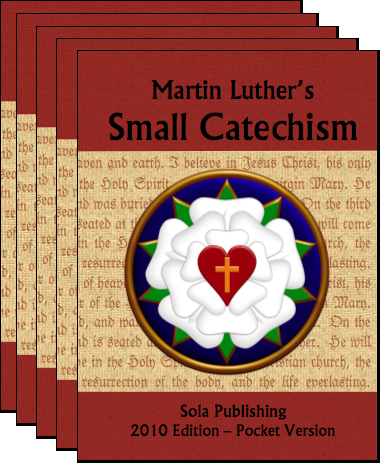 Martin Luther's Small Catechism (Red, 6-pack) C-8106