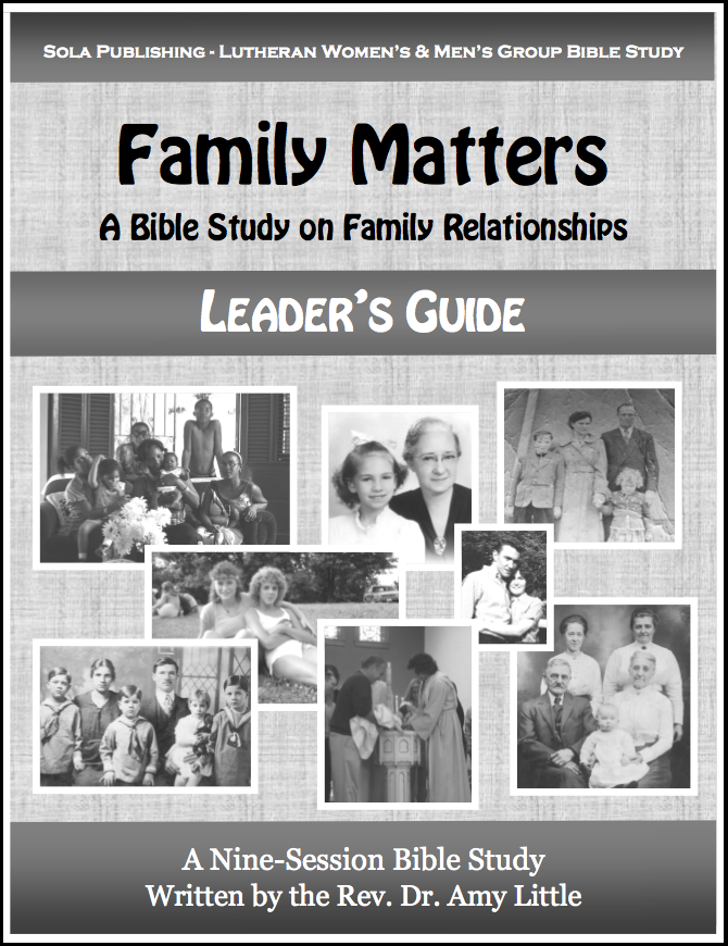 Family Matters - Leader's Guide