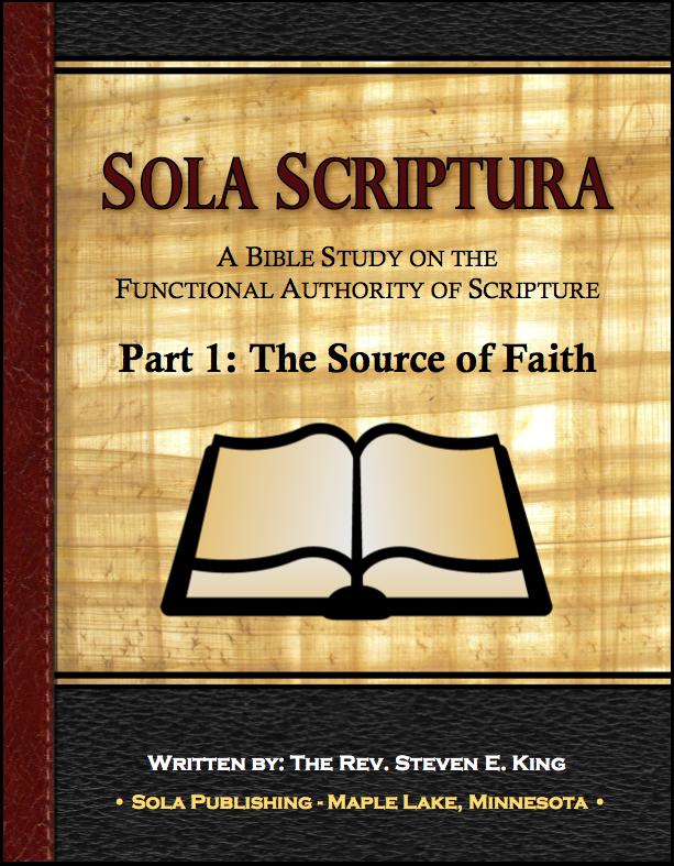 Sola Scriptura Part 1: The Source of Faith - Participant A-7020