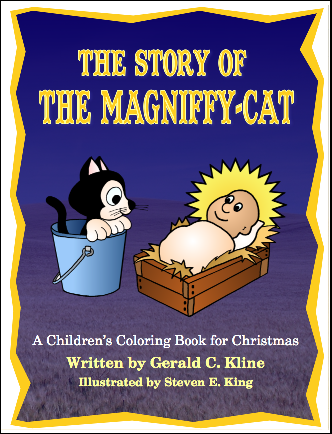 Magniffy-Cat Coloring Book: