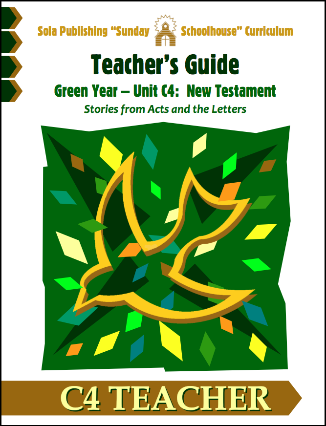 C4 Teacher's Guide: Print Version S-C425