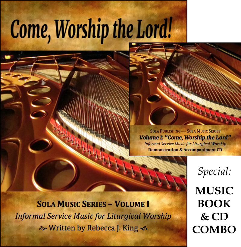 Sola Music Series, Vol I - Come, Worship the Lord Book & CD M-2015