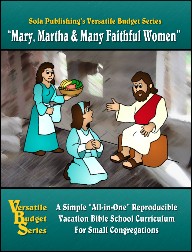 Mary, Martha & Many Faithful Women V-1310
