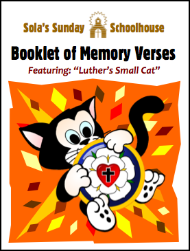 Booklet of Memory Verses