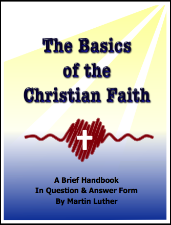 The Basics of the Christian Faith (Catechism) E-8201