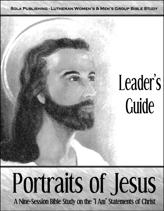 Portraits of Jesus - Leader's Guide W-1015