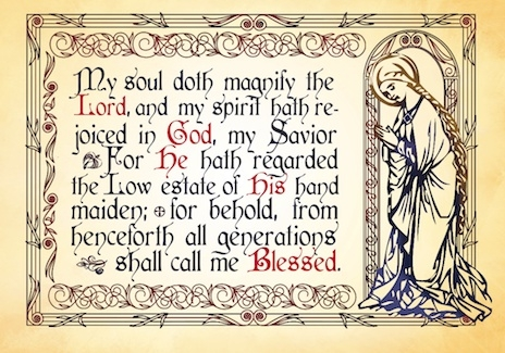 Magnificat Card (Christmas)