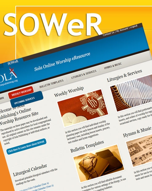SOWeR - Sola Online Worship Resource (up to 49)