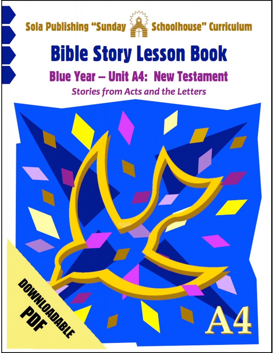 A4 Lesson Book: Download Version S-A430 Lesson Book | Sola Publishing