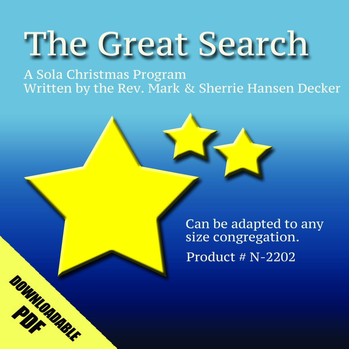 The Great Search (Christmas Program)