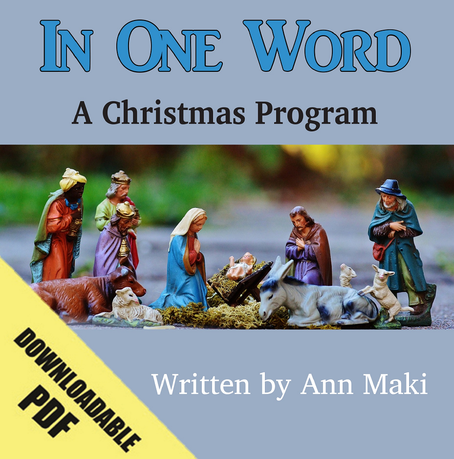 In One Word (A Christmas Program)