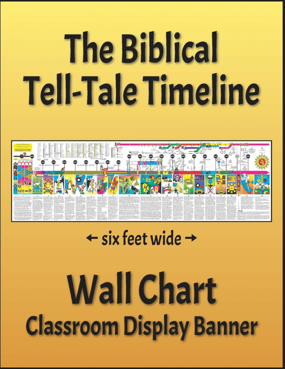 The Biblical Tell-Tale Timeline - Wall Chart