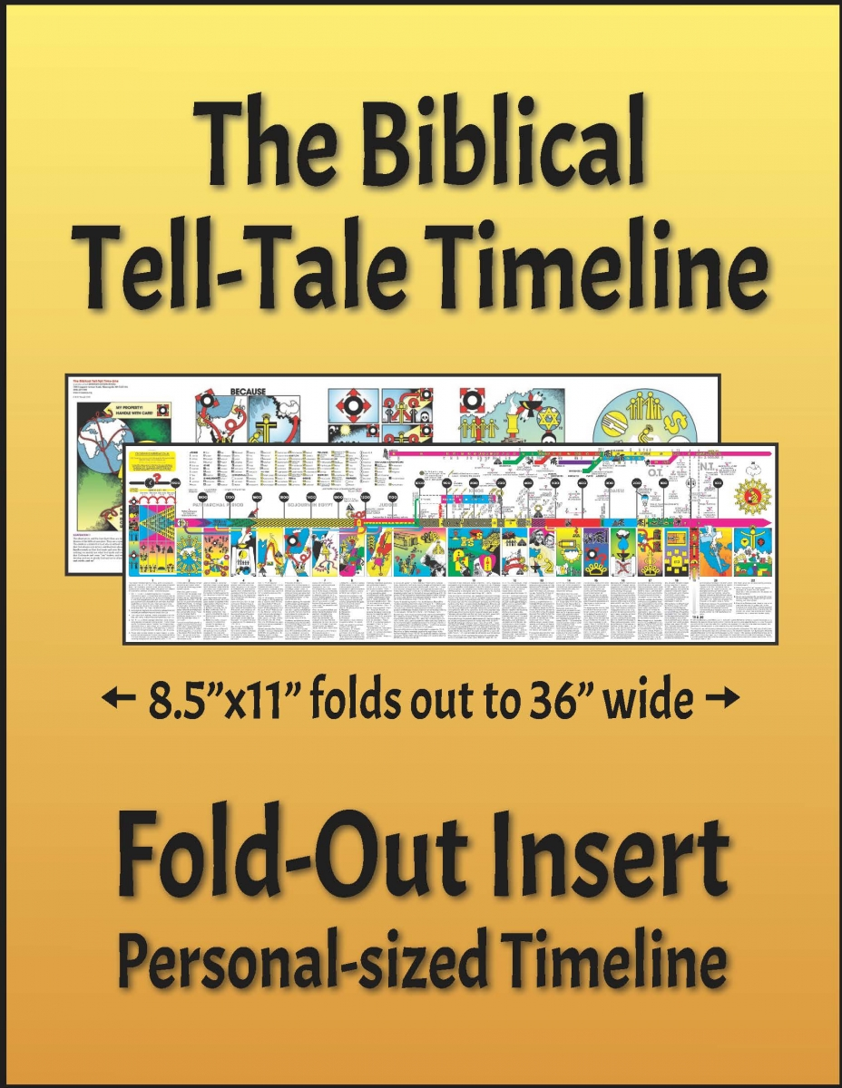 The Biblical Tell-Tale Timeline - Fold-Out Insert