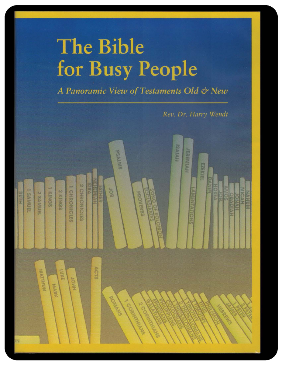 The Bible for Busy People - DVD