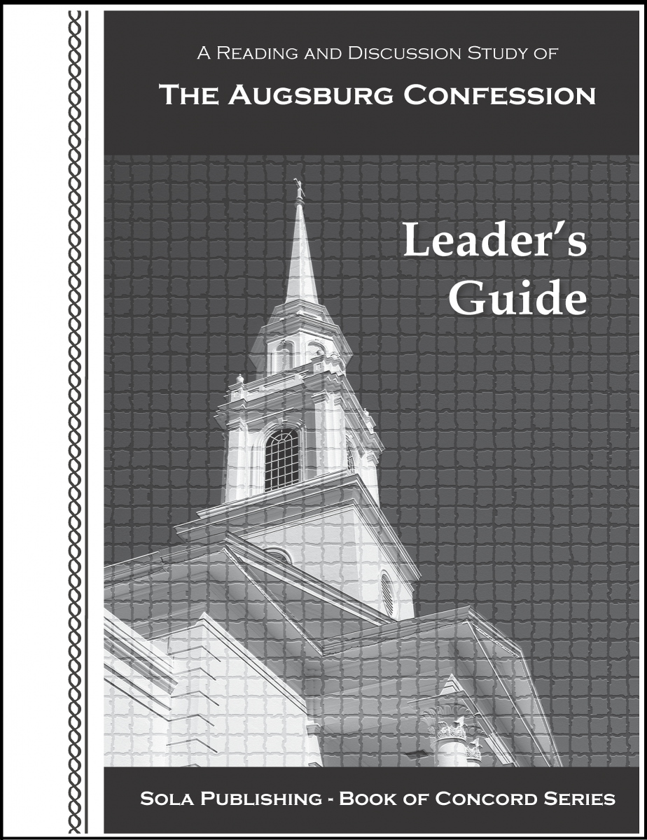 BOC The Augsburg Confession - Leader's Guide