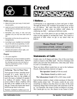 Confirmation: Apostles' Creed (Student Book)