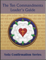 The Ten Commandments (Leader's Guide) C-7035