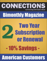 Connections Magazine - 2 Year Subscription (American) P-A102