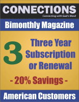Connections Magazine - 3 Year Subscription (American) P-A103