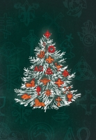 Chrismons Tree Card (Christmas) X-336
