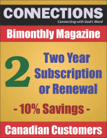 Connections Magazine - 2 Year Subscription (Canadian) P-C102