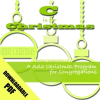 C is for Christmas: Christmas Program N-2201