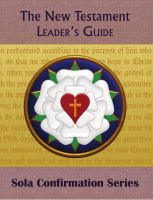The New Testament (Leader's Guide) C-7065