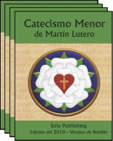 Martin Luther's Small Catechism (Spanish / Español, 6-pack) C-8306