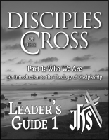 Disciples of the Cross, Pt.1 - Leader J-1015