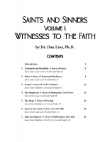 Saints and Sinners Vol. 1 (Participant)