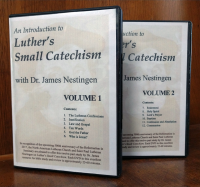An Introduction to Luther's Small Catechism - DVD set G-7010