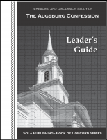 BOC The Augsburg Confession - Leader's Guide L-5015