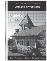 BOC Luther's Catechisms - Leader's Guide L-5025